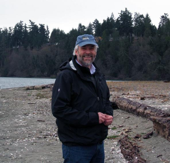 Hugh Shipman, coastal geologist for the Washington Department of Ecology. Photo: Christopher Dunagan
